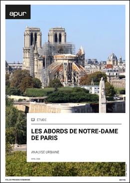 Couverture - Les abords de Notre-Dame de Paris - Analyse urbaine © Apur