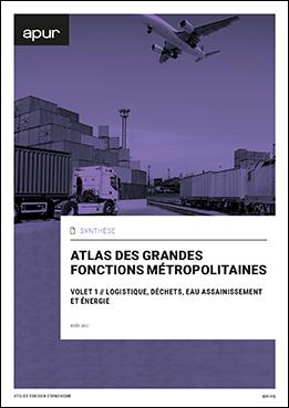 Couverture de l'atlas des grandes fonctions métropolitaines © Apur