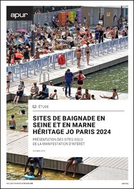 Couverture - Baignade en Seine et en Marne - Héritage JO Paris 2024 ©  Apur