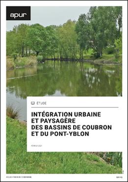 Couverture - Intégration urbaine et paysagère des bassins de Coubron et du Pont-Yblon © Apur