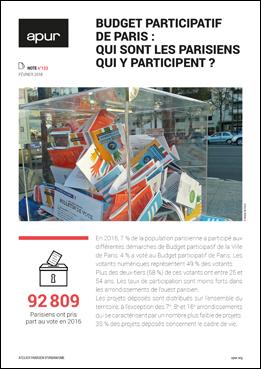 Couverture Note 123 - Budget participatif