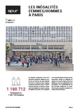 Note 118 - Les inégalités femmes/hommes à Paris