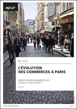L'évolution  des commerces à Paris - Inventaire des commerces 2017  et évolutions 2014‐2017
