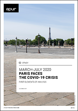 Cover - March - July 2020, Paris faces the COVID-19 crisis - First elements of analysis © Apur
