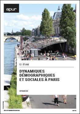 Couverture - Dynamiques démographiques et sociales à Paris © Apur