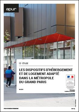 Couverture - Les dispositifs d'hébergement et de logement adapté dans la Métropole du Grand Paris