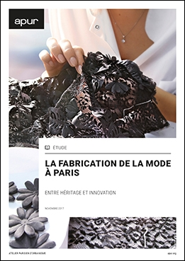 Couverture Fabrication de la mode à Paris
