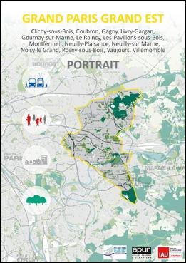 Couverture - Portrait du territoire Grand Paris Grand Est