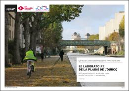 Couverture - Le laboratoire de la plaine de l'Ourcq - Requalification des berges du canal : revégétalisation et animation © Apur