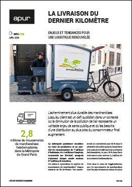 Couverture note 125 - La livraison du dernier kilomètre - Enjeux et tendances pour une logistique renouvelée