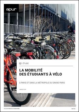 """Couverture de l'étude """"La mobilité des étudiants à vélo"""""""