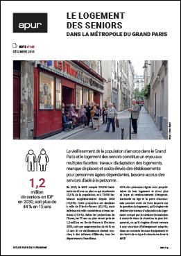 Couverture - Le logement des seniors dans la Métropole du Grand Paris © Apur