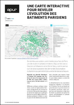 Une carte interactive pour révéler l'évolution des bâtiments parisiens – Couverture