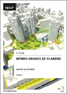 Couverture - NPNRU Orgues de Flandre © Apur