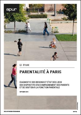Couverture Parentalité à Paris © Apur