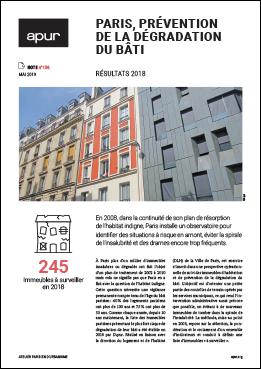 Couverture - Paris, prévention de la dégradation du bâti © Apur