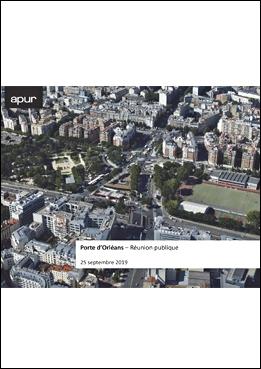 Couverture - Porte d'Orléans - Réunion publique du 25 septembre 2019 © Apur