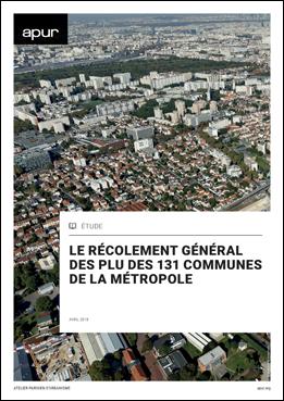 Récolement des PLU des 131 communes de la MGP - Cover