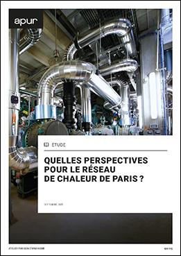 Couverture - Quelles perspectives pour le réseau de chaleur de Paris ? © Apur