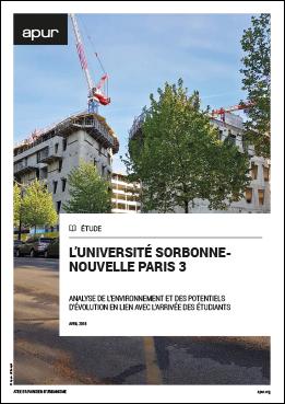 Couverture Université Sorbonne-Nouvelle Paris 3 - Analyse de l'environnement et des potentiels d'évolution en lien avec l'arrivée des étudiants