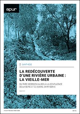 Couverture - La redécouverte d'une rivière urbaine : la Vieille-Mer du parc Georges-Valbon à la confluence de la Seine et du canal Saint-Denis © Apur