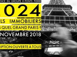 Conférence : 2024 - Quels immobiliers dans quel Grand Paris? © Groupe X-Ponts Pierre