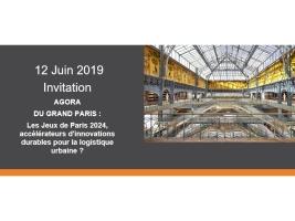 © Agora du Grand Paris - Les Jeux de Paris 2024, accélérateurs durables pour la logistique urbaine?