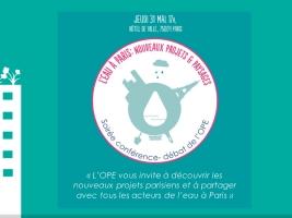 L'eau à Paris, nouveaux projets & paysages © L'eau à Paris, nouveaux projets & paysages