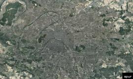 Grand Paris, aerial view © photo aérienne - 2015 Aérodata