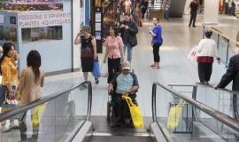 accessibilité escalator © Jean-Baptiste Gurliat / Mairie de Paris