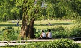 Détente au bois de Vincennes © Guillaume Bontemps - Ville de Paris