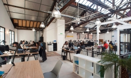 espace de coworking © Hélène Freudiger