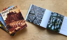 Vue sur une série de Paris Projet © Apur