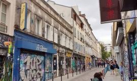 rue Denoyez Paris 20 © Apur
