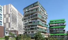Observatory Housing and Living Conditions - Habitat collectif, Paris 12e arr. -  62 logements sociaux Paris Habitat - OPH Hamonic + Masson architectes © Apur – David Boureau