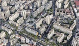 Paris 13 : Boulevard Vincent Auriol, le quartier Nationale - © ph.guignard@air-images.net