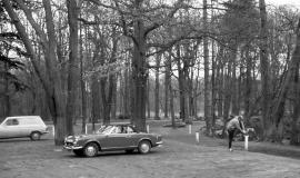 The Bois de Vincennes park in 1977 © Apur