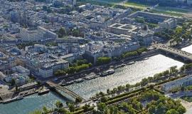 Vue aérienne sur Paris © ph.guignard@air-images.net