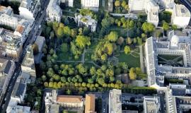 Jardin du monastère de la Visitation (Paris, 14e) © ph.guignard@air-images.net