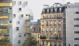 Parisian social housing buildings © Jean-Baptiste Gurliat – Mairie de Paris