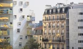 Immeubles de logements sociaux parisiens © Jean-Baptiste Gurliat – Mairie de Paris