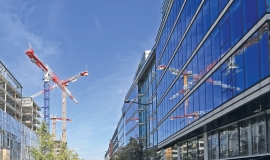 View of office buildings © Mairie de Paris - DU - MCC - J. Leroy
