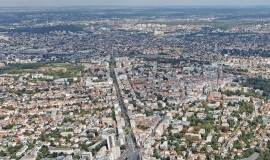 Aerial view of the town of Nogent-sur-Marne © ph.guignard/air-images.net