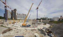 Vue sur l'un des chantiers d'une future gare du Grand Paris Express © Société du Grand Paris / David Delaporte