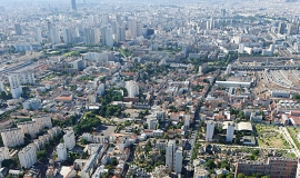 View over Ivry and the metropolis © Ph.guignard@air-images.net