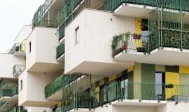 Immeuble de logements sociaux à Courbevoie © Apur - David Boureau