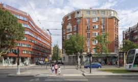 Boulevard Masséna : HBM  (13th district) © Apur - Arnauld Duboys Fresney