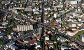 Aerial view of Metropole du Grand Paris © Ph.Guignard@air-images.net
