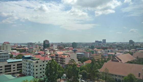 View of the city of Phnom Penh (Cambodia) © Apur