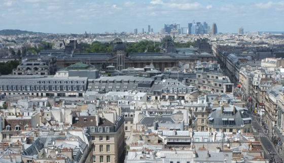 View from the Saint-Jacques tower © Apur Patalagoïty